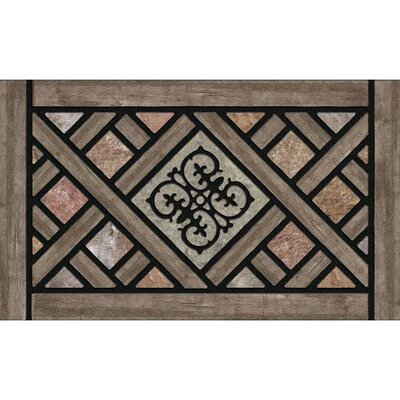 Masterpiece Rustic Lattice Doormat