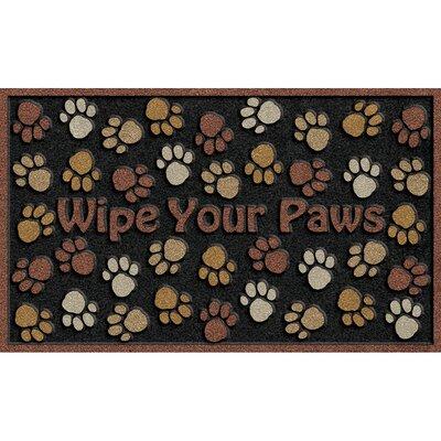 CleanScrape Deluxe Wipe Your Paws Doormat