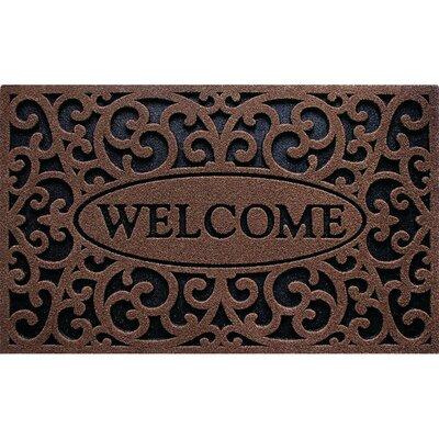 CleanScrape Welcome Doormat 60-963-1418-01800030