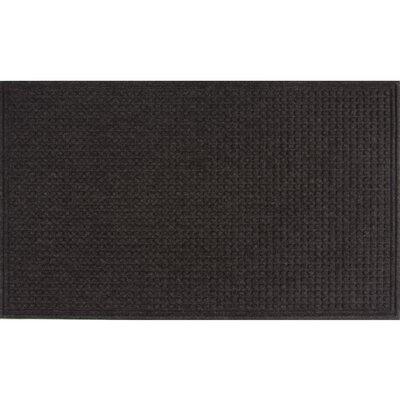 Textures Squares Doormat Color: Onyx