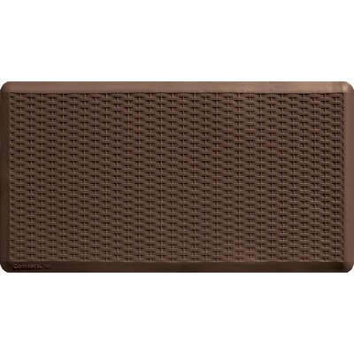 Gel Like Chef Kitchen Mat Color: Brown