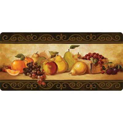 Cushion Comfort Gourmet Fruit Kitchen Mat