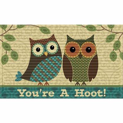 Hawthorne 3D Youre a Hoot Doormat
