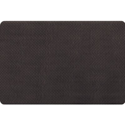 Hillsville Pro Chef Basket Weave Kitchen Mats Rug Size: 18 x 26, Color: Black