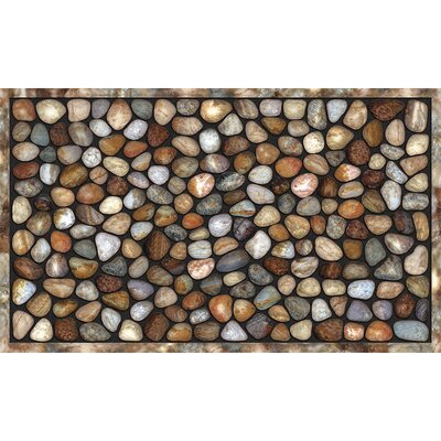 Elfrieda River Rocks Doormat