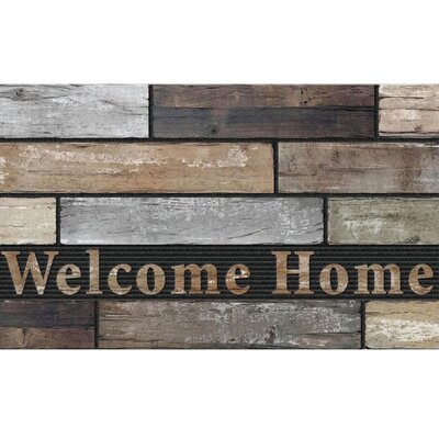 Elfrieda Welcome Home Slats Doormat