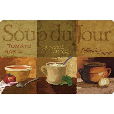 Boyers Soup De Jour Kitchen Mat