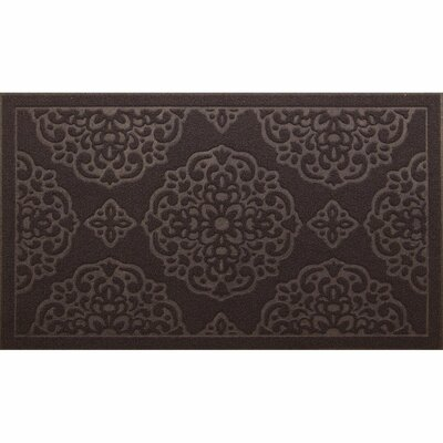 Lochner Engravings Medallions Doormat Color: Brown