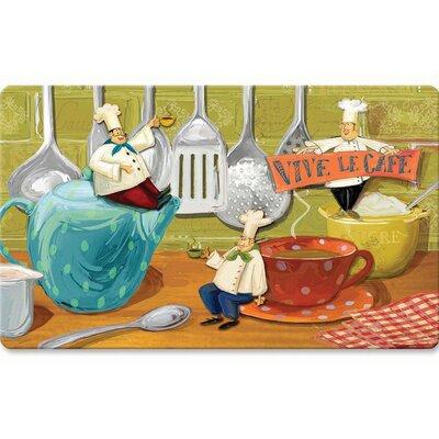 Boxelder Viva Le Caf� Kitchen Mat
