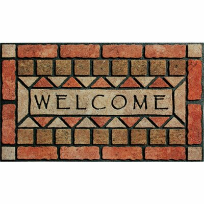 Elfrieda Welcome Stones Doormat