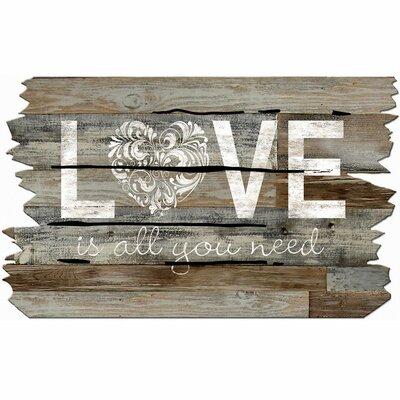 Elfrieda Love Is All You Need Doormat