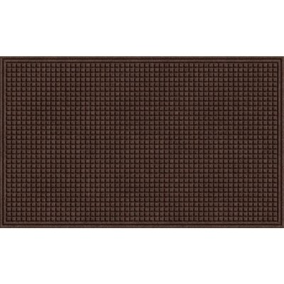 Quinwood Squares Doormat Color: Walnut