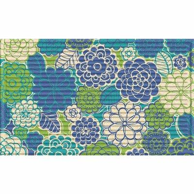 Hawthorne Zinna Blossoms Doormat