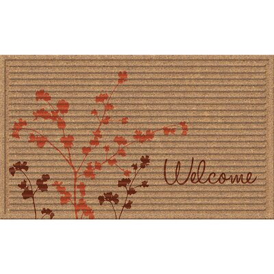 Hawthorne 3D Simple Welcome Doormat