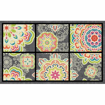 Elfrieda Bohemian Arabesque Doormat