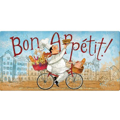 Boykins Chef on a Bike Kitchen Mat