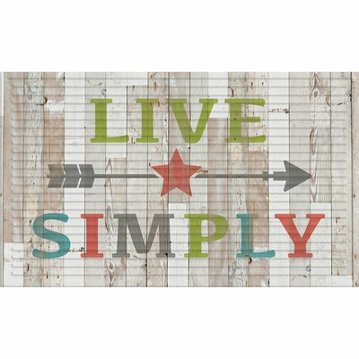 Bo 3D Live Simply Doormat