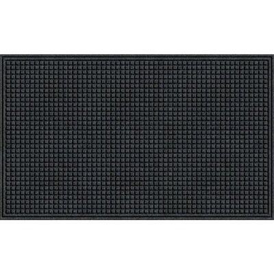 Quinwood Squares Doormat Color: Onyx