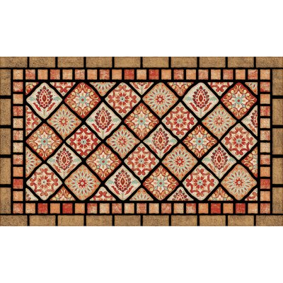 Elfrieda Tiles Doormat