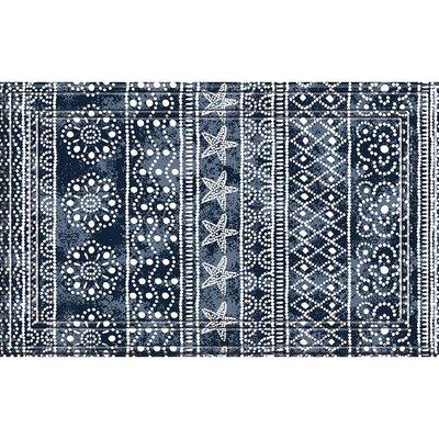 Carew Weave Medallion Stripes Doormat