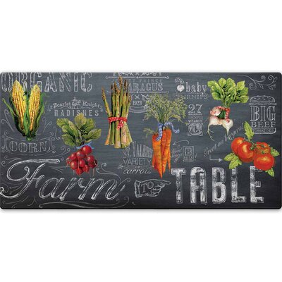 Mandragore Farm to Table Kitchen Mat