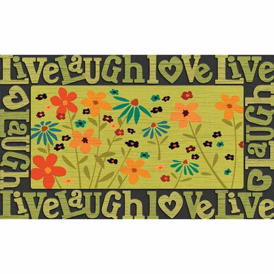 Elfrieda Live, Love, Laugh Doormat