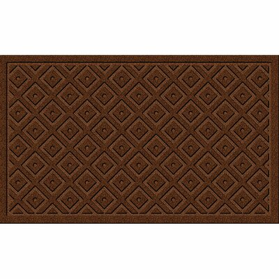 Lockport Mega Scraper Diamond Lattice Boot Trays Scraper Color: Sedona Brown