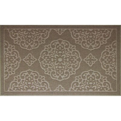 Lochner Engravings Medallions Doormat Color: Tan