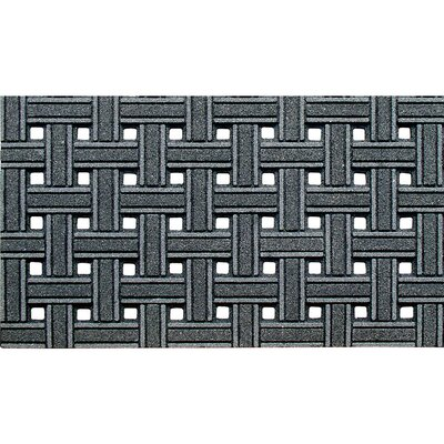Haynes Weave Boot Trays & Scraper Rug Size: Rectangle 16 x 26, Color: Gray