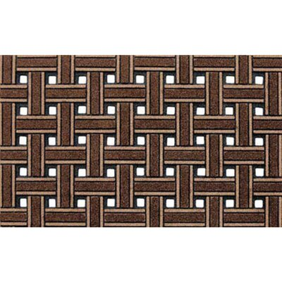 Haynes Weave Boot Trays & Scraper Rug Size: 16 x 26, Color: Brown