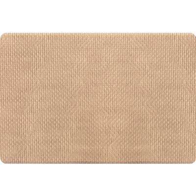Hillsville Pro Chef Basket Weave Kitchen Mats Mat Size: Rectangle 18 x 26, Color: Beige