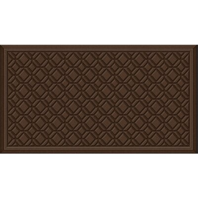 Joesph Tiles Kitchen Mat Color: Chocolate