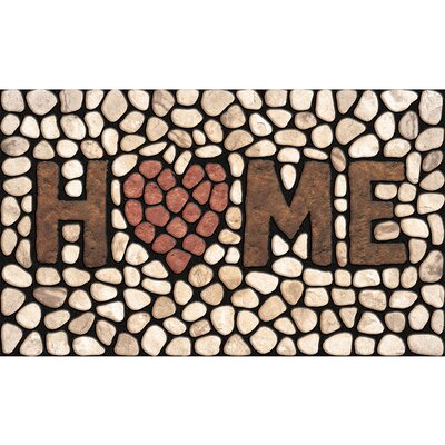 Elfrieda Home Stones Doormat