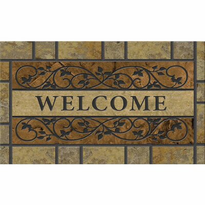 Laseter Saddle Back Stone Doormat