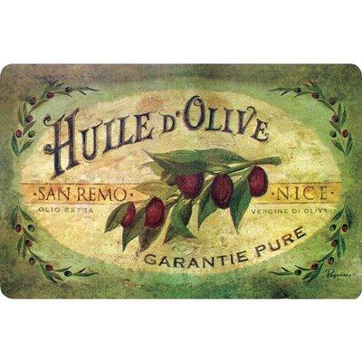 Bowerton Vintage Olive Oil Kitchen Mat