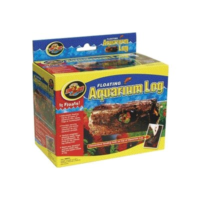 Low Price Zoo Med Float Aqua Log for Pet Size: Small (0.35′ H x 0.47′ W x 0.64′ L)
