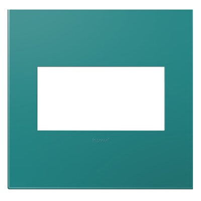 adorne 2-Gang Wall Plate Finish: Turquoise Blue AWP2GTB4