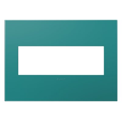 adorne 3-Gang Wall Plate Finish: Turquoise Blue AWP3GTB4