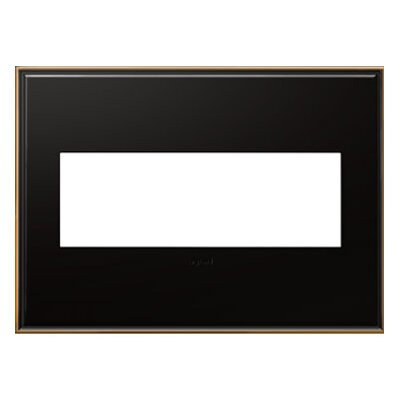 adorne 3-Gang Wall Plate Finish: Oil-Rubbed Bronze