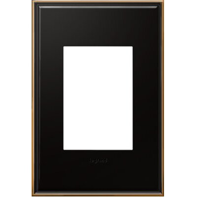 adorne 1-Gang 3-Module Wall Plate Finish: Oil-Rubbed Bronze