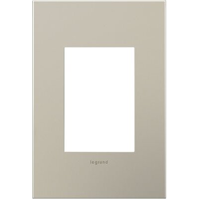 adorne 1-Gang 3-Module Wall Plate Finish: Satin Nickel
