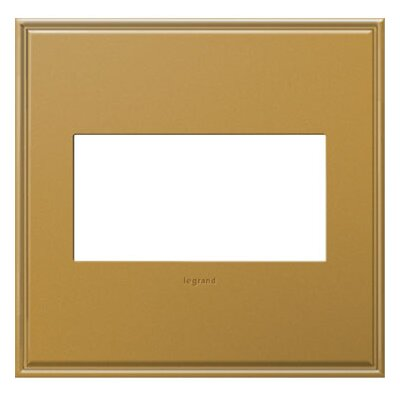 adorne 2-Gang Wall Plate Finish: Antique Bronze