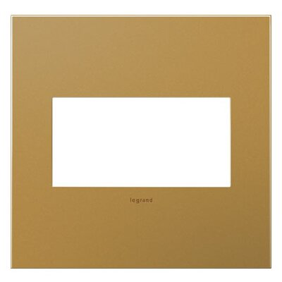 adorne 2-Gang Wall Plate Finish: Satin Bronze