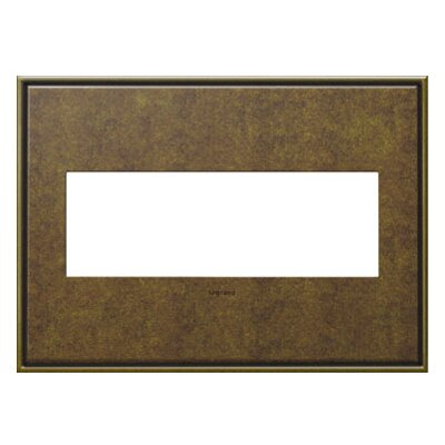 adorne 3-Gang Wall Plate Finish: Aged Brass