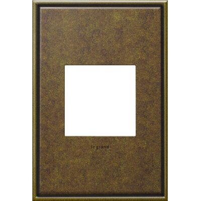adorne 1-Gang Wall Plate Finish: Aged Brass