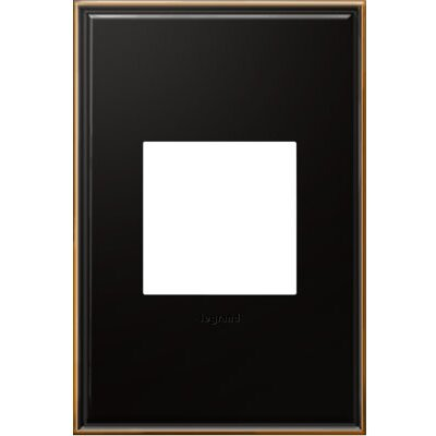 adorne 1-Gang Wall Plate Finish: Oil-Rubbed Bronze