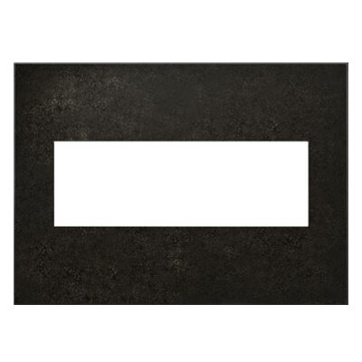 adorne 3-Gang Wall Plate Finish: Dark Burnished Pewter