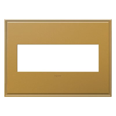 adorne 3-Gang Wall Plate Finish: Antique Bronze