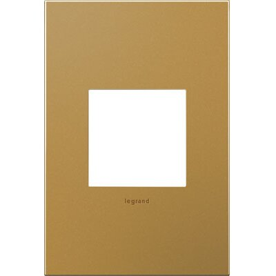 adorne 1-Gang Wall Plate Finish: Satin Bronze