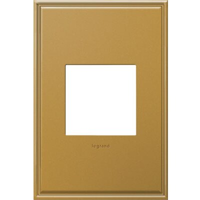 adorne 1-Gang Wall Plate Finish: Antique Bronze